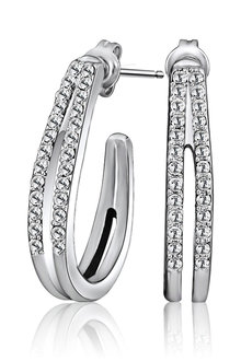 Mestige Ella Earrings with Swarovski® Crystals - 282478