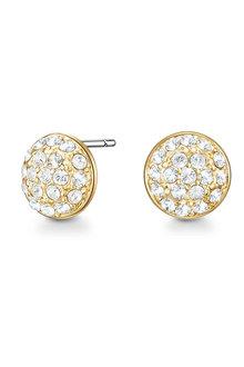 Mestige Golden Jai Earrings with Swarovski® Crystals - 282491