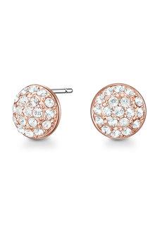 Mestige Rose Gold Jai Earrings with Swarovski® Crystals - 282494