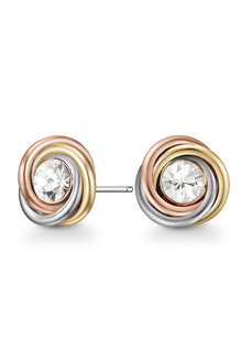 Mestige Norah Trinity Earrings with Swarovski® Crystals - 282500