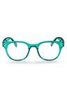 Mestige Tech Blue Light Glasses in Turquoise