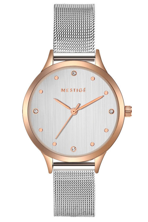Mestige The Everleen in Rose Gold with Swarovski® Crystals