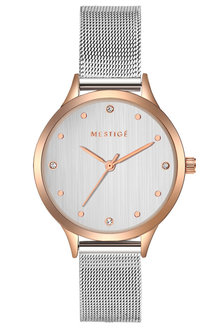 Mestige The Everleen in Rose Gold with Swarovski® Crystals - 282552