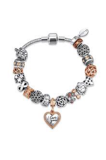 Mestige Tender-hearted Bracelet with Swarovski® Crystals - 282574