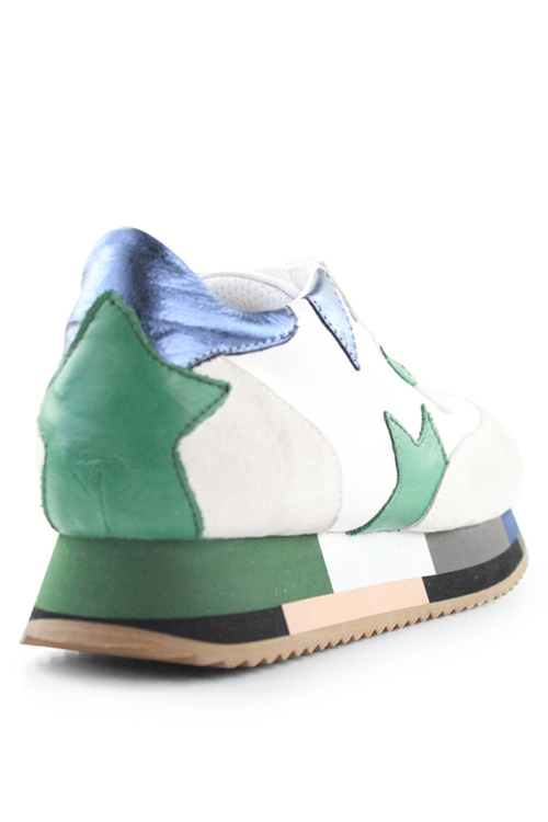 Bueno Sale Leather Sneakers