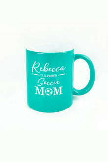 Personalised Proud Soccer Mum Ceramic Mug - 282684