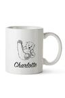 Personalised Mumma Bear With One Baby Bear Ceramic Mug
