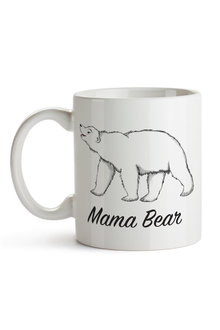 Personalised Mumma Bear With Three Baby Bears Ceramic Mug - 282689