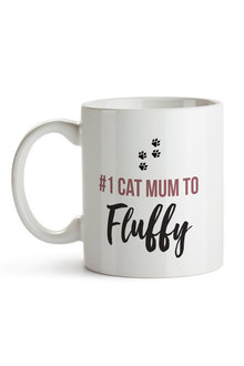 Personalised No.1 Cat Mum Ceramic Mug - 282690