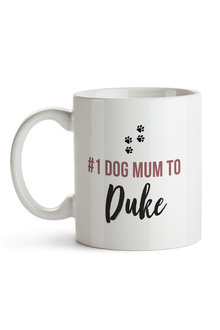 Personalised No.1 Dog Mum Ceramic Mug - 282691