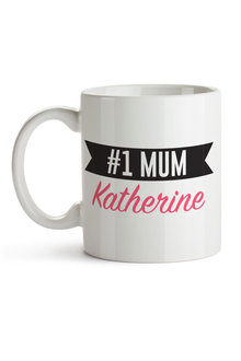 Personalised No.1 Mum Ceramic Mug - 282692
