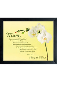 Personalised To Mum With Love Small Frame - 282693