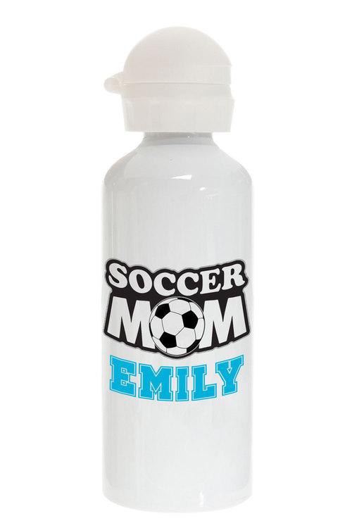Personalised Soccer Mum Stainless Steel Drink Bottle