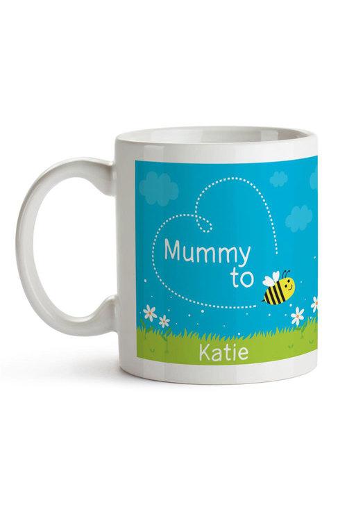 Personalised Mummy To Bee Ceramic Mug