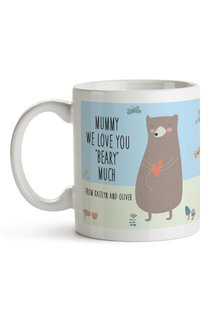 Personalised We Love You Beary Much Ceramic Mug - 282702