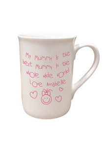 Personalised Mummy Is The Best Bone China Mug - 282703
