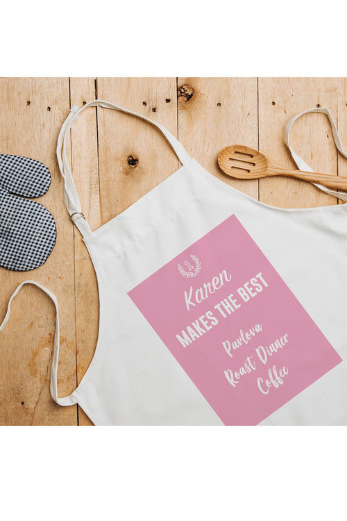 Personalised Mum Makes The Best Apron