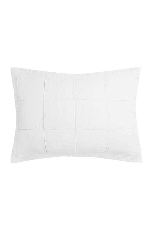 Bambury French Linen Quilted Pillowcase