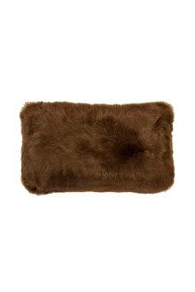 Bambury Faux Fur Breakfast Cushion - 282985
