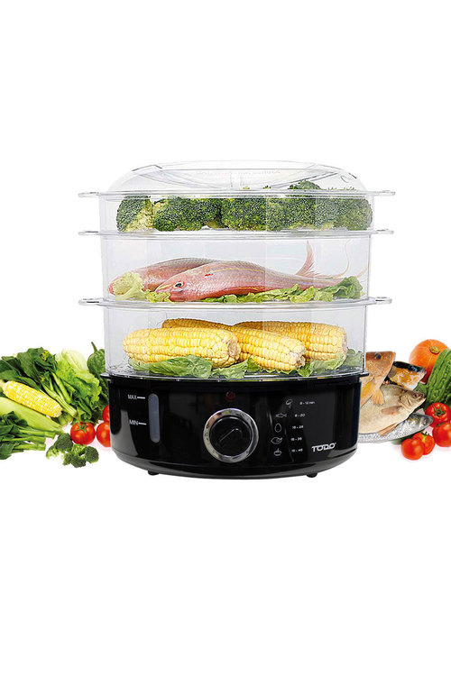 TODO 9L 3-Tray Steam Cooker