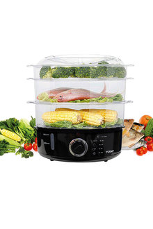TODO 9L 3-Tray Steam Cooker - 283074