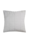 Bambury French Linen Quilted Euro Pillowcase