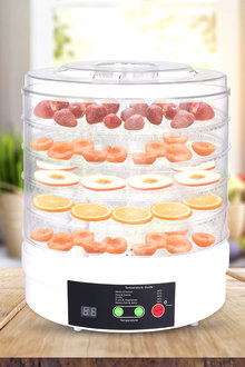 Spector 5 Tray Electronic Food Dehydrator - 283523