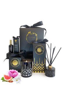 Surmanti Peonies Peppers & Tuberose Opulence Crystal Gift Box - 283610