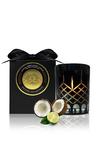 Surmanti Crystal Series Long Burning Coconut Wax Candle