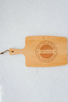 Personalised Eat, Talk, Share Paddle Board - 283669