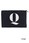 Personalised Letter Canvas Pouch