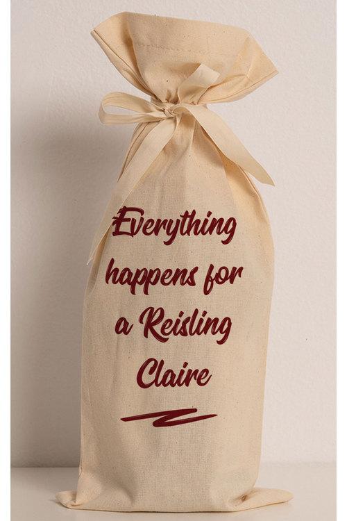 Personalised Wine Gift Bag - Custom Message