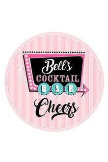 Personalised Personalised Cocktail Bar Coaster Set Of 4 - 283747