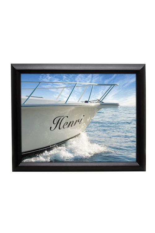 Personalised Yacht Personalised Framed Art