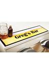 Personalised Beer Bar Mat