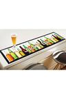 Personalised Bottles Bar Mat