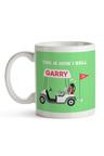 Personalised Golf Caddy Ceramic Mug