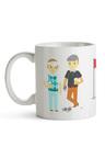 Personalised Golf Mates Ceramic Mug