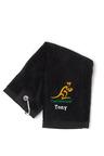 Personalised Rugby Australia Golf Towel