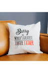 Personalised World's Greatest Farter Cushion Cover