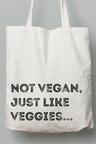 Personalised Personalised Custom Message Tote bag