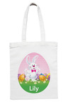 Personalised Tote Bag Easter Bunny