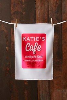 Personalised Cafe Tea Towel - 283812