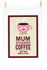 Personalised Coffee Tea Towel
