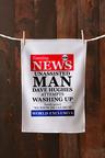 Personalised Unassisted Man Tea Towel