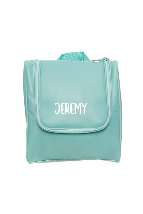 Personalised Wash Bag Light Blue