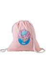 Personalised Wet Bag Pink Mermaid