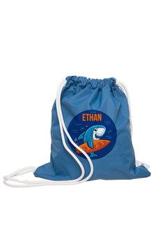 Personalised Wet Bag Navy Shark - 283908