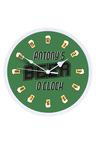 Personalised Beer O'Clock Clock