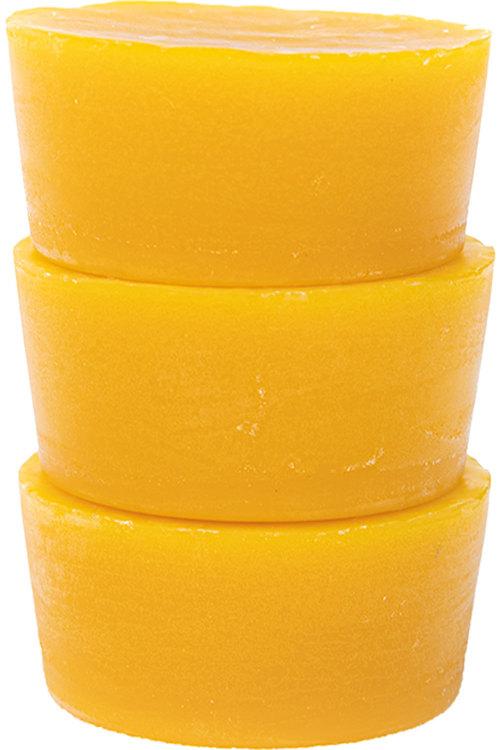 Hexton 100% Beeswax Blocks Set of Three